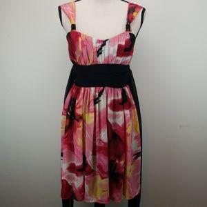 Three Pink Hearts Dress